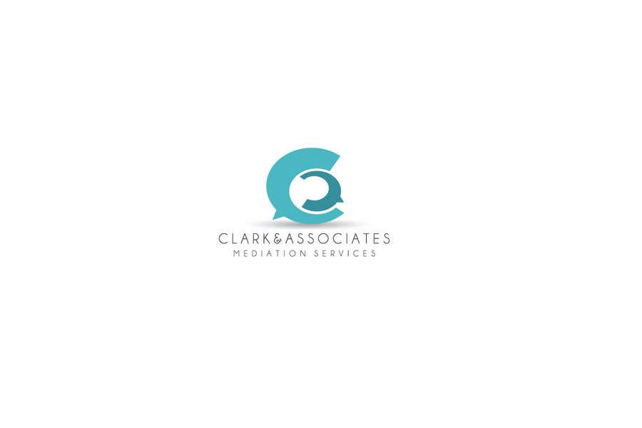 "Penyertaan Peraduan #24 untuk Logo for ""Clark & Associates Mediation Services"" which offers mediation services away from court for people involved in disputes. Key concepts: confidential, discussion, understanding, option generation, agreement, mutually beneficial outcome."
