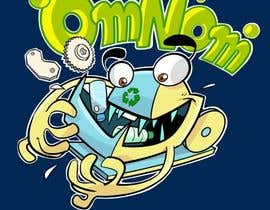 artinearth tarafından Looking for an illustrative or cartoonish style logo For the name OmNom. için no 38