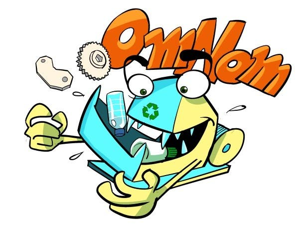 #9 for Looking for an illustrative or cartoonish style logo For the name OmNom. by artinearth
