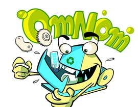 artinearth tarafından Looking for an illustrative or cartoonish style logo For the name OmNom. için no 22