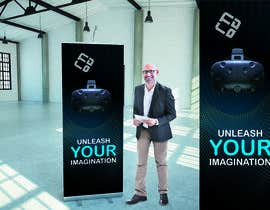 #38 for Design a VR Roll-UP Display for an exhibition by bagas0774