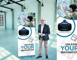 #40 for Design a VR Roll-UP Display for an exhibition by bagas0774