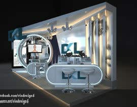 #18 for DESIGN MEDICAL AESTHTICS BOOTH FOR EXHIBITION by visdesign4