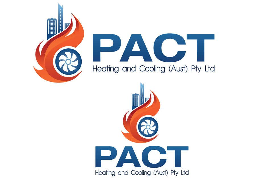 Contest Entry #35 for Heating and Cooling company is branching out