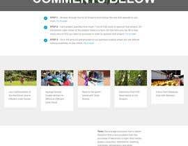 Nro 11 kilpailuun Redesign our home page käyttäjältä AlexisDolores