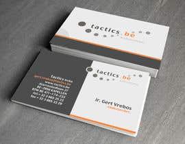 #12 for Design Business Cards for Tactics bvba af anibaf11