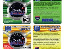 #18 for Print & Packaging Design for Throttle Muscle by arteq04