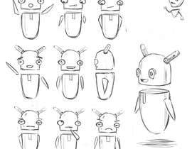 Antonn3 tarafından I need a robot sketch (pencil or digital) için no 65