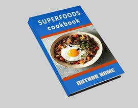 #41 for Design a book cover for a health food cookbook by Tuloshedas