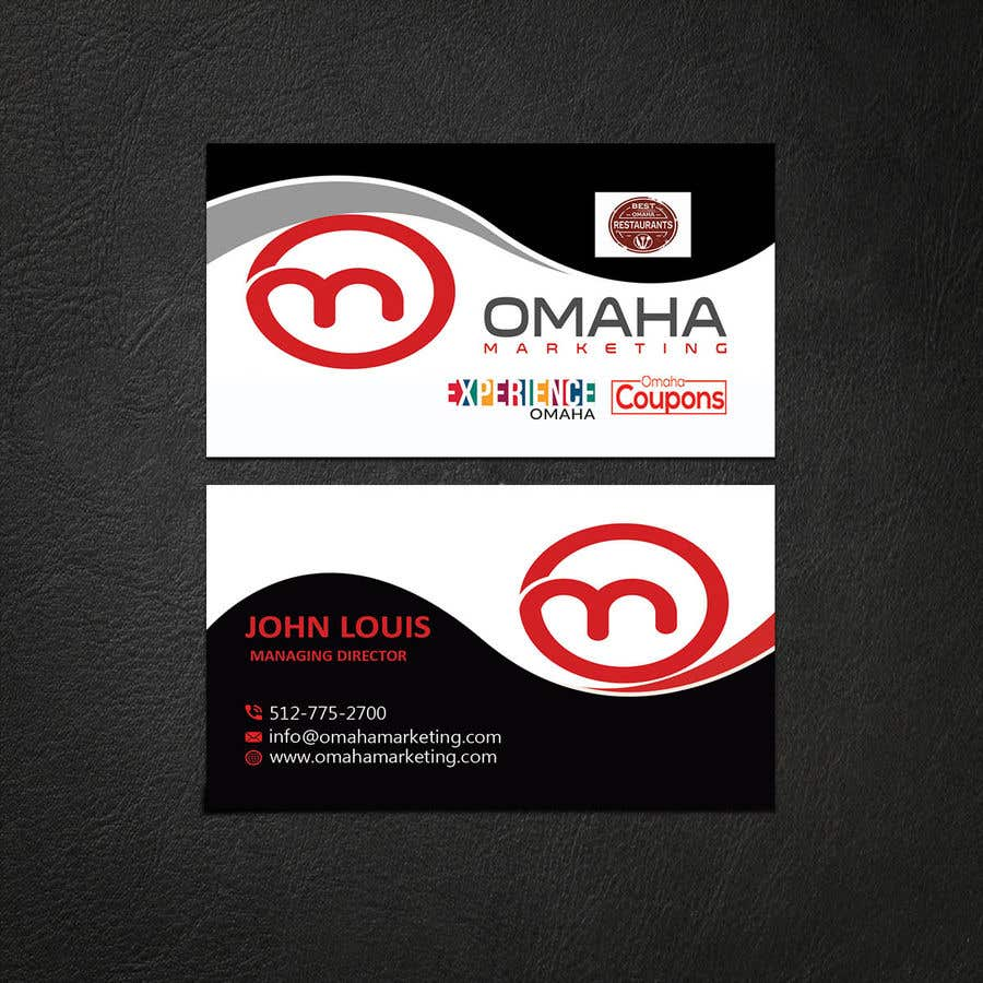 Entry 162 by anawatechfarm for design a business card that has design a business card that has multiple logos reheart Image collections