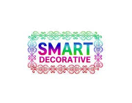 """#290 untuk Design a logo with the words """"Smart Decorative"""" letters to be really colourful and have a art brush in the logo drawing the logo oleh fokirmahmud47"""