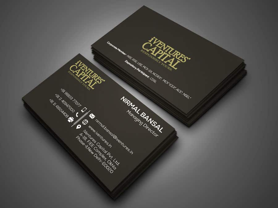 Entry #68 by mithu08 for Classical + Modern Business Card for ...