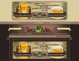 #82 for Banner Ad Design for Tea4me.ru tea&coffee sales&delivery af violeta1354