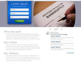 Ibrahimzee tarafından Website Design for LookforLawyer.com için no 168