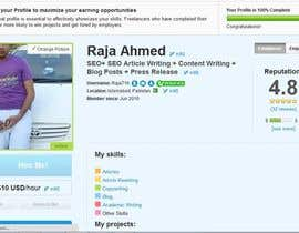 Raja716 tarafından vWorker Users: Complete your Profile and Win! için no 203