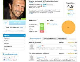 DesignPRO72 tarafından vWorker Users: Complete your Profile and Win! için no 164