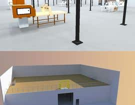 Nro 4 kilpailuun 3D model. Interior and exterior of building and exterior of property. käyttäjältä mohamedemad2233