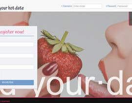 widuIT tarafından dating portal landing page (2 different page) için no 10