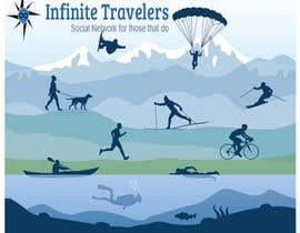 creativetigers32 tarafından Infinite Travelers Splash screen and slideshow images için no 8