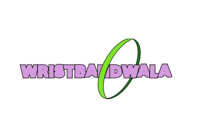 Penyertaan Peraduan #37 untuk Design A Logo for a Silicone Wrist Band Company.... Wristbandwala.com