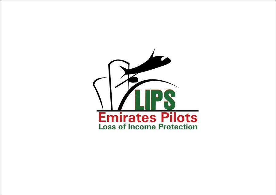 Inscrição nº 218 do Concurso para Logo Design for Emirates Pilots Loss of Income Protection (LIPS)