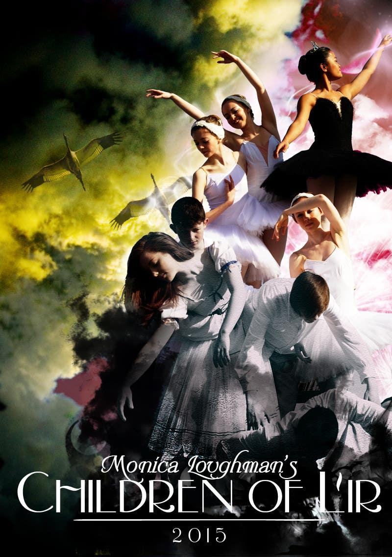 Proposition n°                                        19                                      du concours                                         Graphic Design for  A new main-scale ballet production