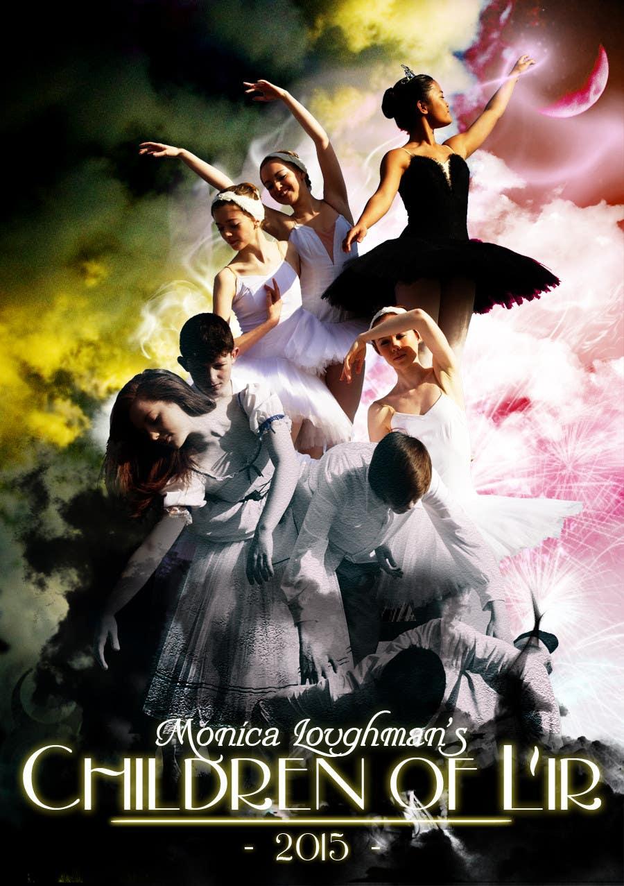 Proposition n°                                        13                                      du concours                                         Graphic Design for  A new main-scale ballet production