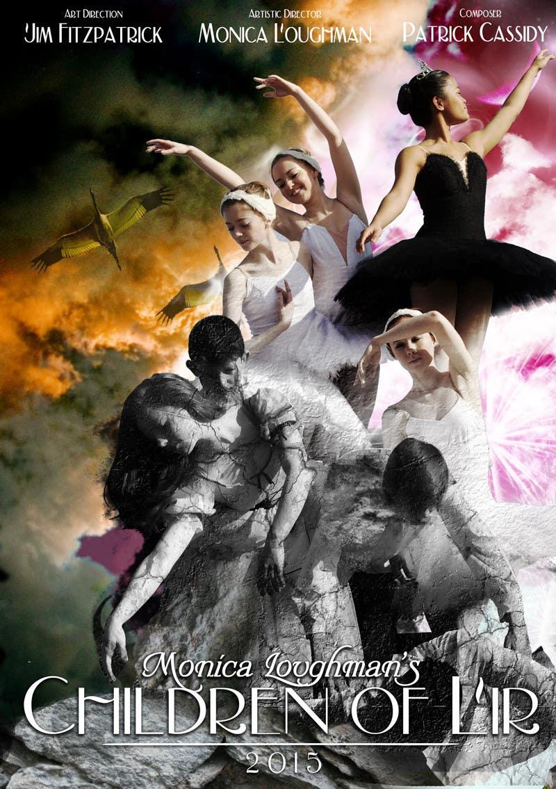 Proposition n°                                        62                                      du concours                                         Graphic Design for  A new main-scale ballet production