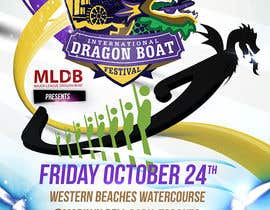 #12 for Flyer Design for Major League Dragon Boat events af creationz2011
