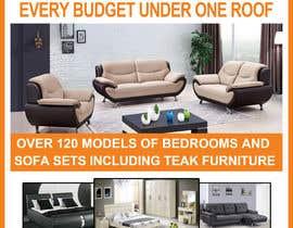 Nro 13 kilpailuun Design of a newspaper Advert for Furniture Business - 2 x 6 month contract käyttäjältä developingzone