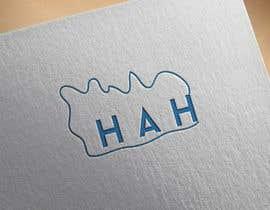 Nro 15 kilpailuun Logo designed using H A H incorporated into mountains käyttäjältä dxarif24