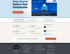 #58 para Wordpress Theme Design for Cloud-Phone Inc. por toybox29
