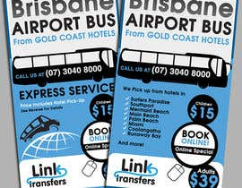 #43 para Flyer Design for Airport Transfer company (DL size) por creationz2011
