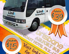 #46 untuk Flyer Design for Airport Transfer company (DL size) oleh multitasker2012