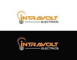 #412 for Design a Logo for INTRAVOLT ELECTRICS af VIPlOGO