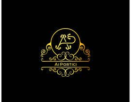 """#292 dla """" Ai Portici """" logo for historic bar in the center of the city of Cremona przez ArchangelStudio"""