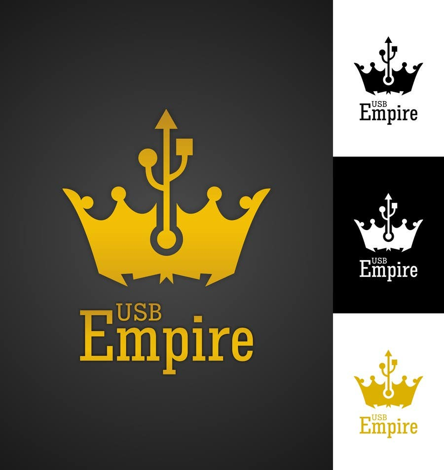 Konkurrenceindlæg #                                        45                                      for                                         Logo Design for USB Empire