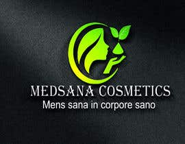 "#4 for logo for my business. Its about natural home-made cosmetics (cremes, soaps etc) witch are also terapeutical. The name is ""medsana cosmetics"". slogan is ""mens sana in corpore sano"" . Maybe a woman shape from the side holding something like a chamomile by GripichDesigner"