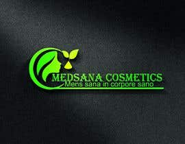 "#7 for logo for my business. Its about natural home-made cosmetics (cremes, soaps etc) witch are also terapeutical. The name is ""medsana cosmetics"". slogan is ""mens sana in corpore sano"" . Maybe a woman shape from the side holding something like a chamomile by GripichDesigner"
