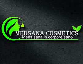"#9 for logo for my business. Its about natural home-made cosmetics (cremes, soaps etc) witch are also terapeutical. The name is ""medsana cosmetics"". slogan is ""mens sana in corpore sano"" . Maybe a woman shape from the side holding something like a chamomile by GripichDesigner"