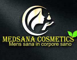 "#11 for logo for my business. Its about natural home-made cosmetics (cremes, soaps etc) witch are also terapeutical. The name is ""medsana cosmetics"". slogan is ""mens sana in corpore sano"" . Maybe a woman shape from the side holding something like a chamomile by GripichDesigner"
