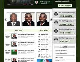 Nro 3 kilpailuun Design a Website Mockup for a Political candidate käyttäjältä rginfosystems