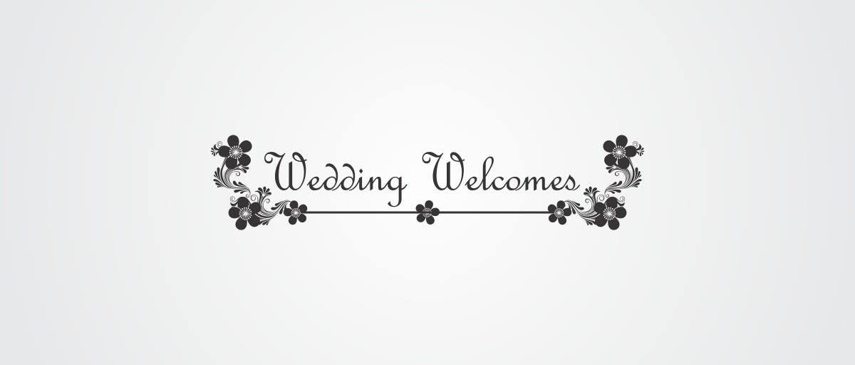 Konkurrenceindlæg #                                        133                                      for                                         Design a logo for a small wedding business