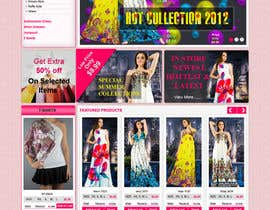 #32 untuk Website Design for Dresses Fashion Site oleh kosmografic