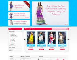 #33 untuk Website Design for Dresses Fashion Site oleh sanjay2004