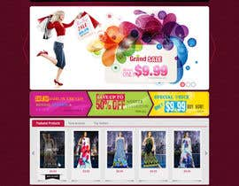 #31 for Website Design for Dresses Fashion Site by iNoesis