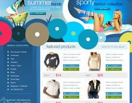 #35 untuk Website Design for Dresses Fashion Site oleh Acme1Asif