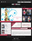 Contest Entry #41 for Website Design for Dresses Fashion Site