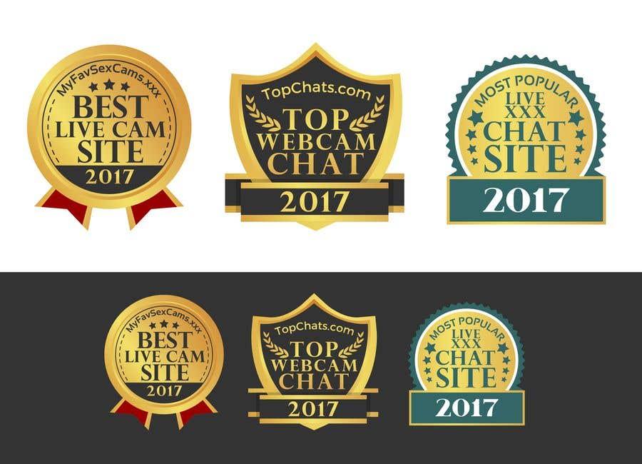 Badge Website entry 13 by attebasile for design website award badges freelancer