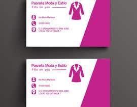 #30 untuk Diseño Tarjeta de presentación Ropa Femenina/ Design a Card (female clothes) oleh Tanvirtitu3